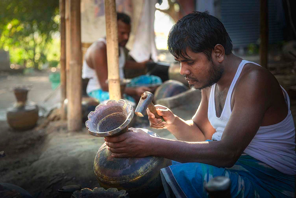 Bell Metal, Brush Metal Industries of Assam, People of Assam, Hajo
